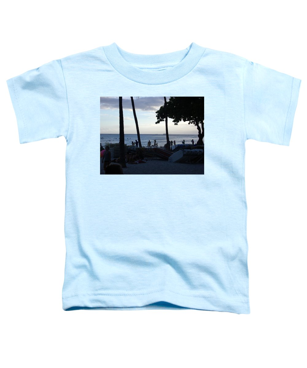 Hawaii Toddler T-Shirt featuring the photograph Hawaiian Afternoon by Daniel Sauceda