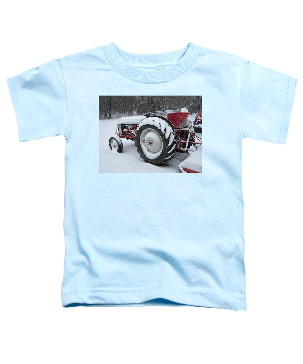 Tractor Toddler T-Shirt featuring the photograph Herman by Gale Cochran-Smith