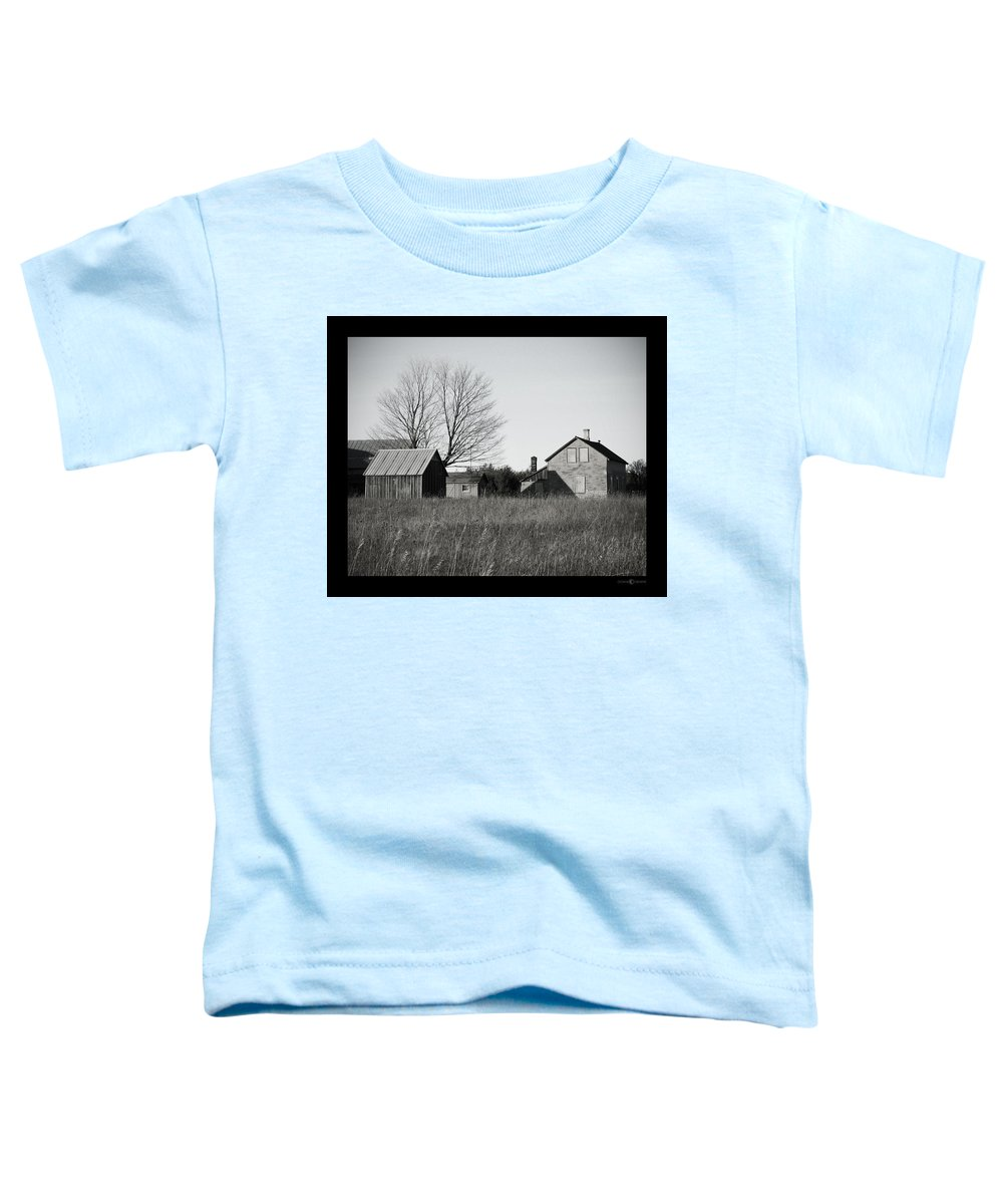 Deserted Toddler T-Shirt featuring the photograph Homestead by Tim Nyberg