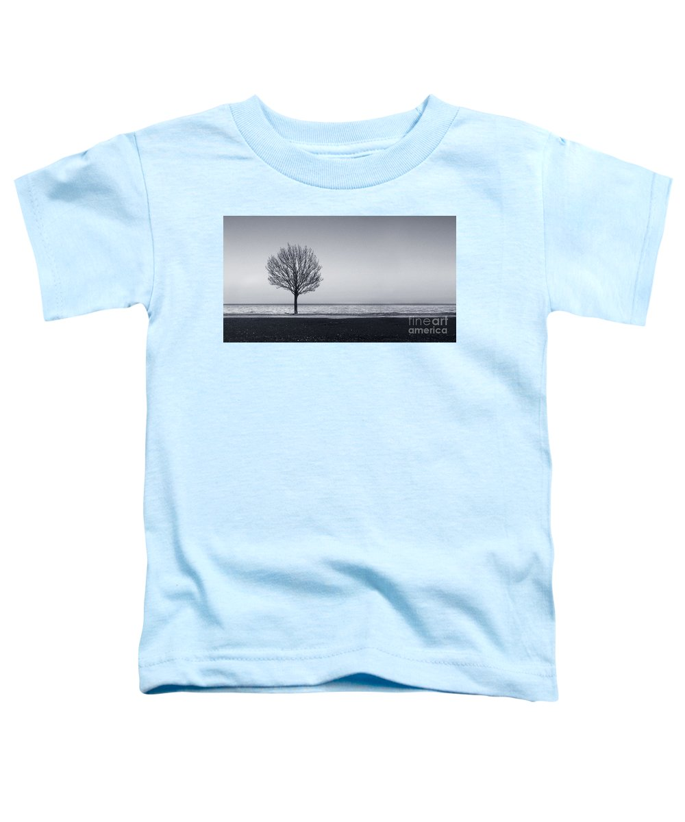 Tree Toddler T-Shirt featuring the photograph I Didnt Hear You Leaving by Dana DiPasquale