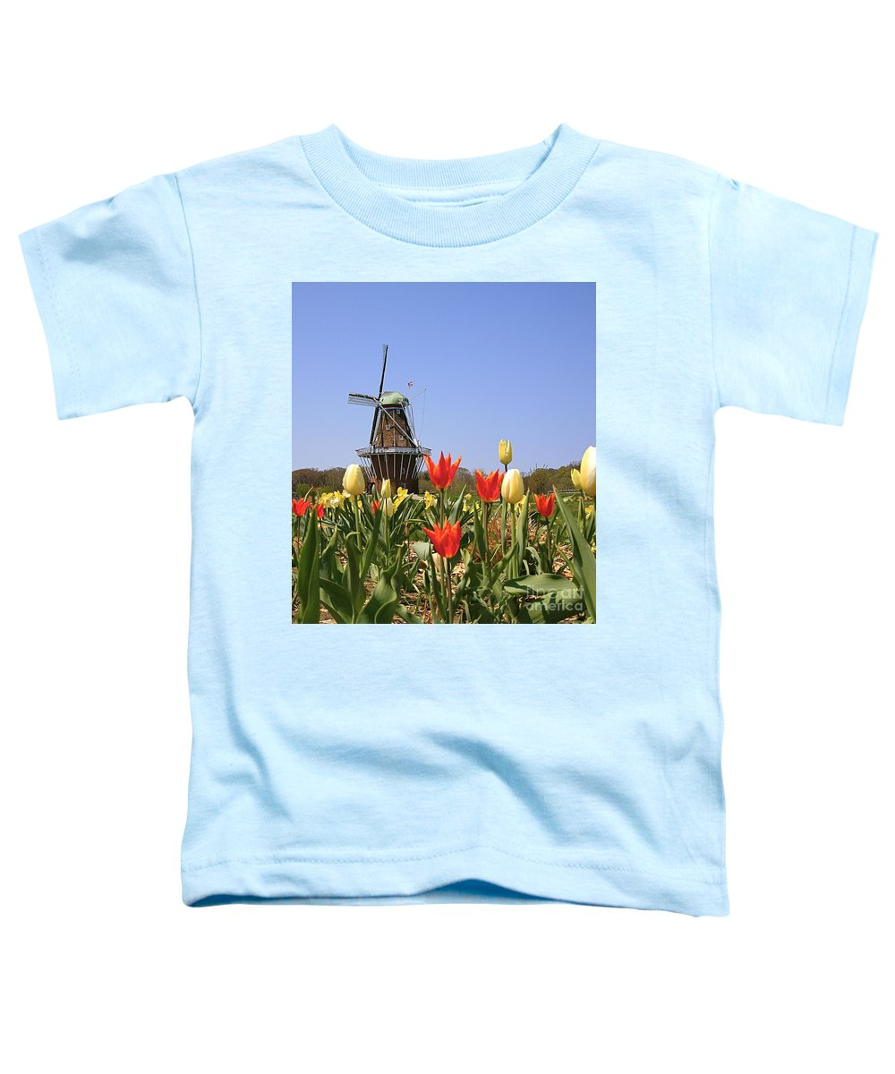 Tulips Toddler T-Shirt featuring the photograph Its Tulip Time by Robert Pearson