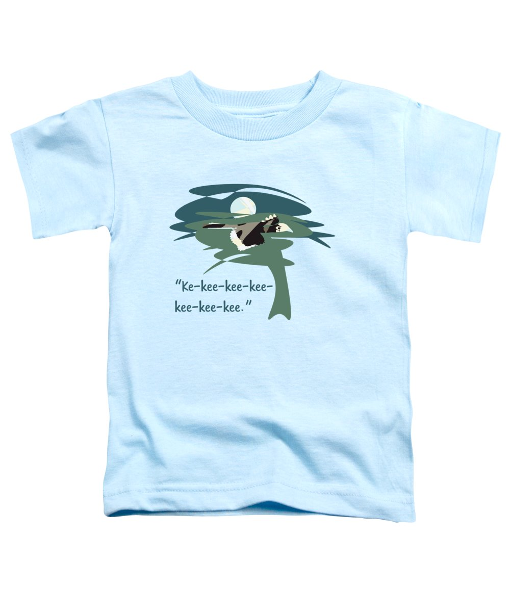 Hornbill Toddler T-Shirts