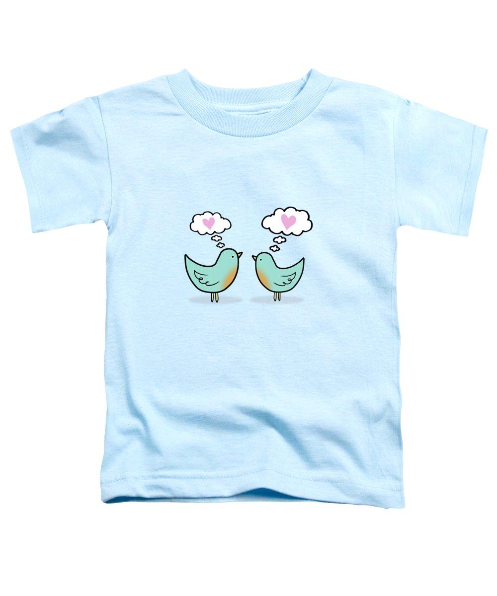 Lovebird Toddler T-Shirts
