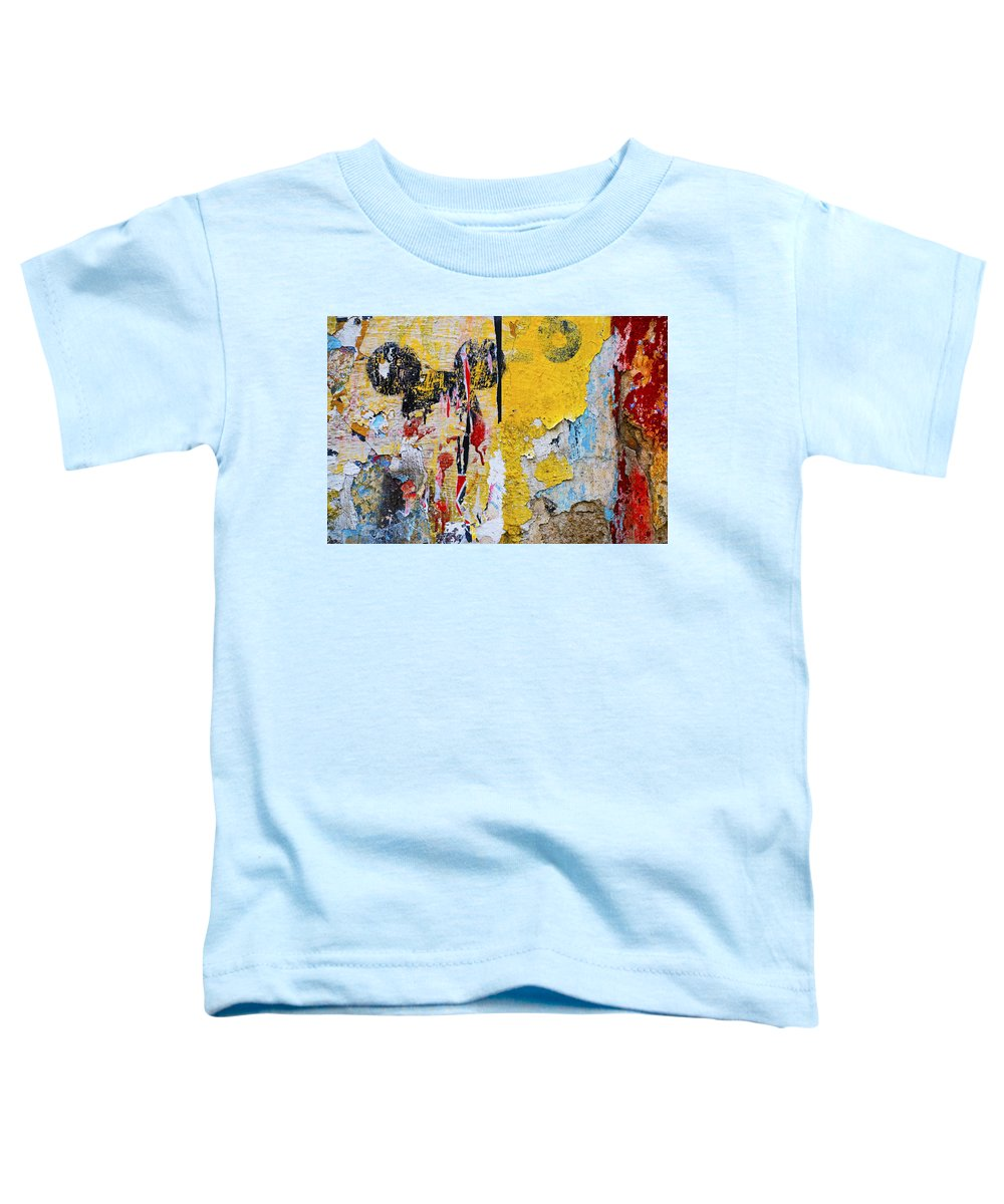 Mickey Mouse Toddler T-Shirt featuring the photograph Mickeys Nightmare by Skip Hunt
