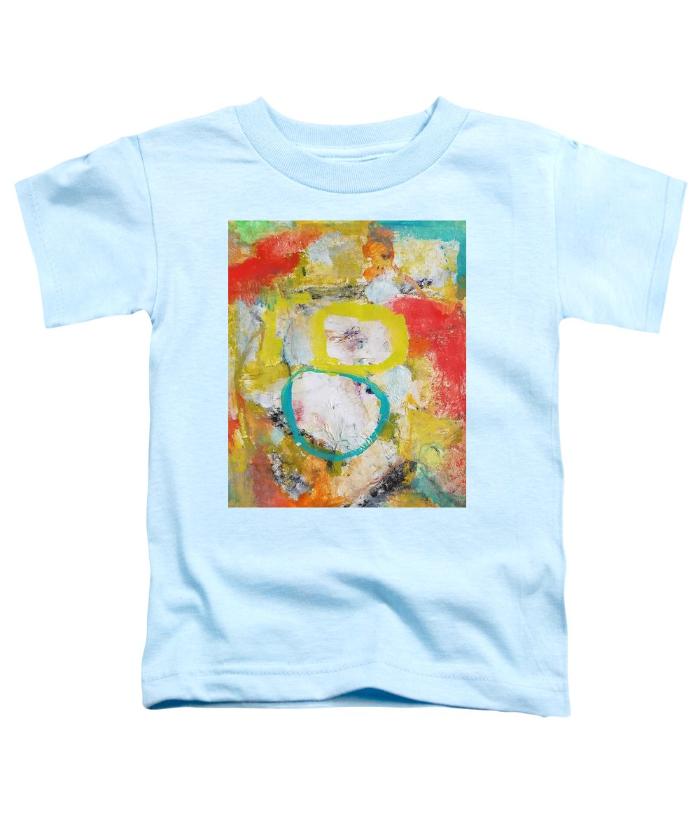 Abstract Toddler T-Shirt featuring the painting Morning Calm by Patricia Byron