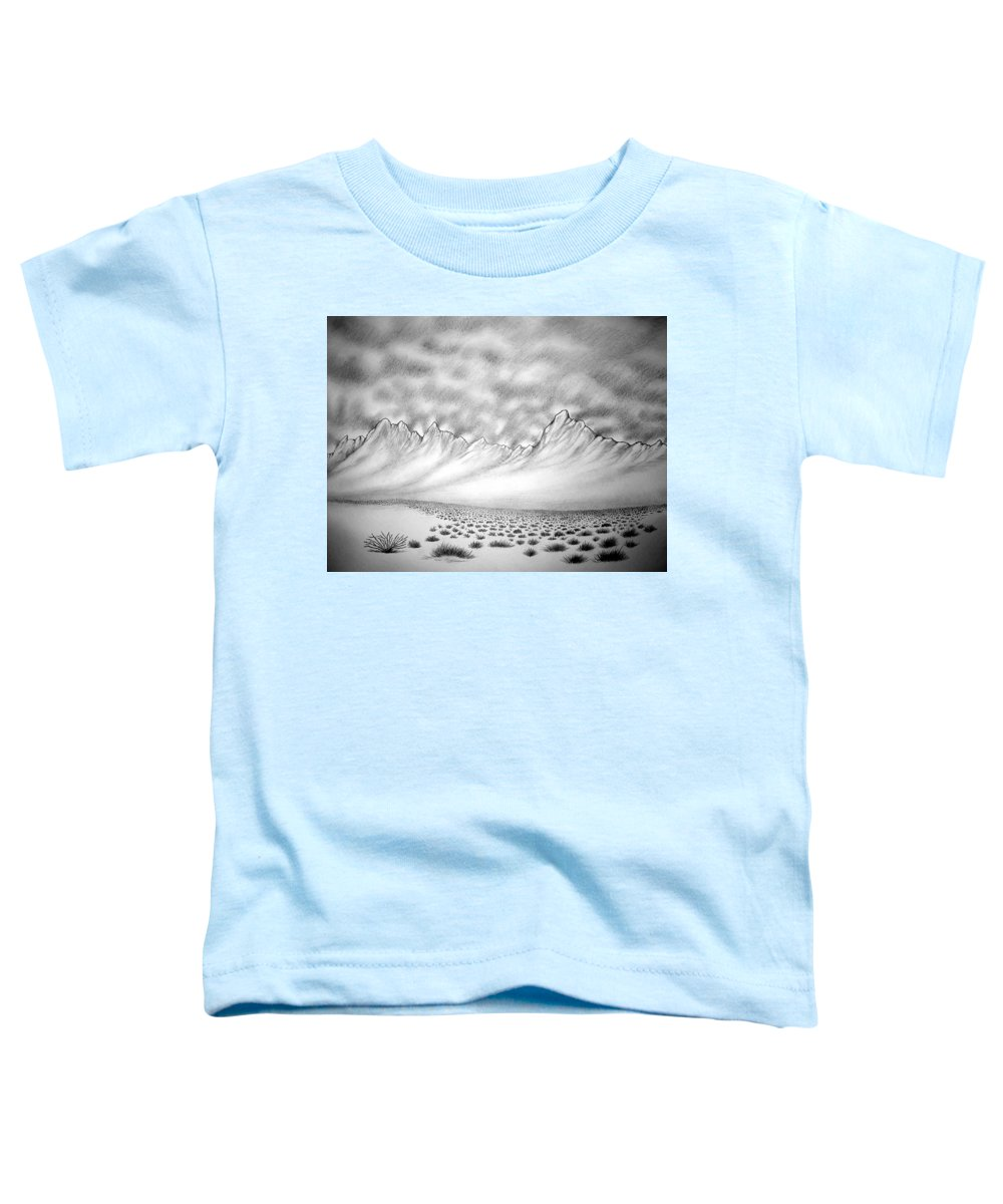 Toddler T-Shirt featuring the drawing New Mexico passage by Marco Morales
