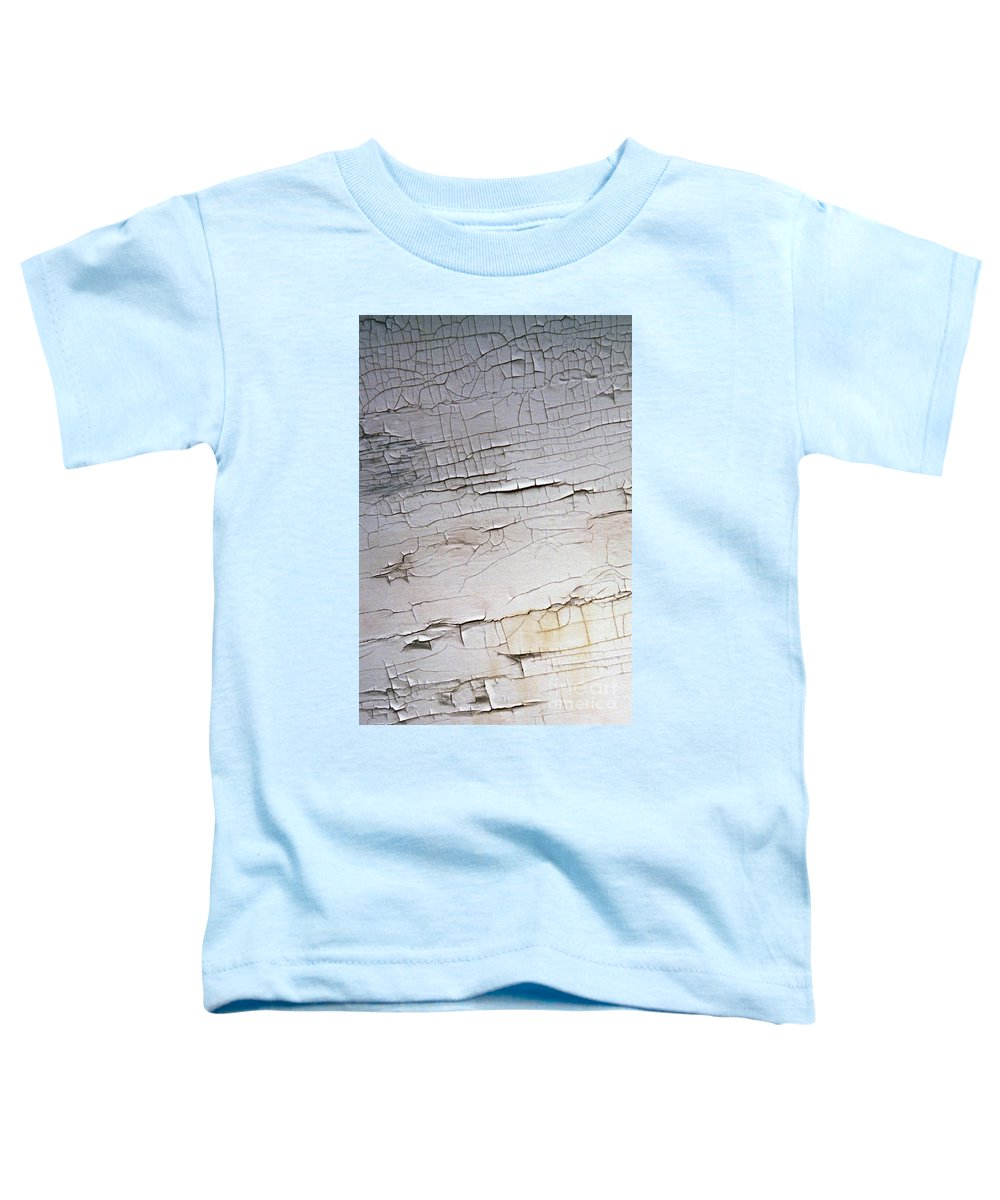Paint Toddler T-Shirt featuring the photograph Old Siding by Richard Rizzo