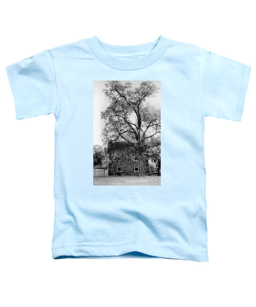 Homes Toddler T-Shirt featuring the photograph Old Stone House by Richard Rizzo