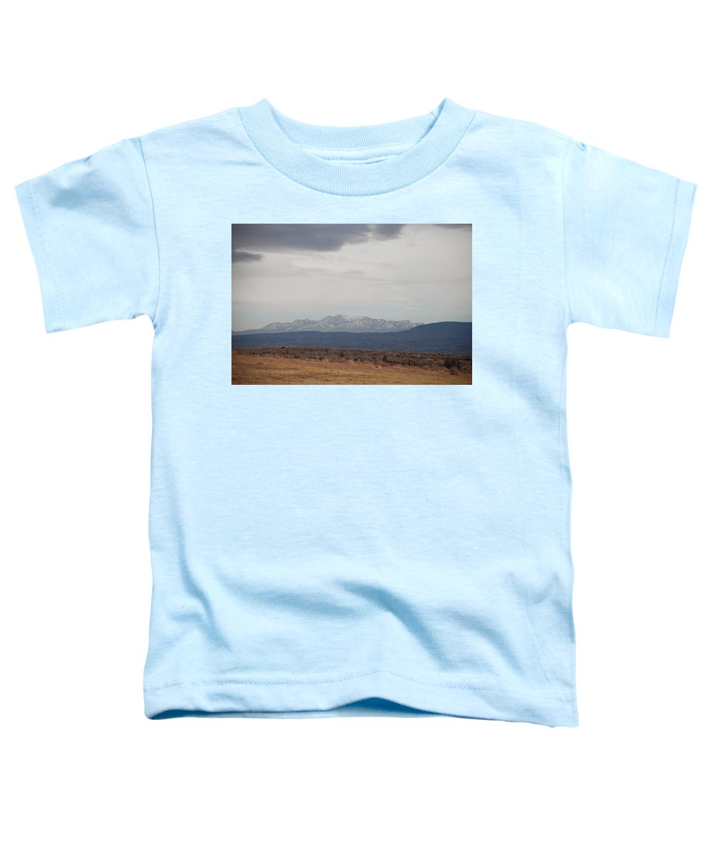 Mountains Toddler T-Shirt featuring the photograph Overcast On The Sandias by Rob Hans