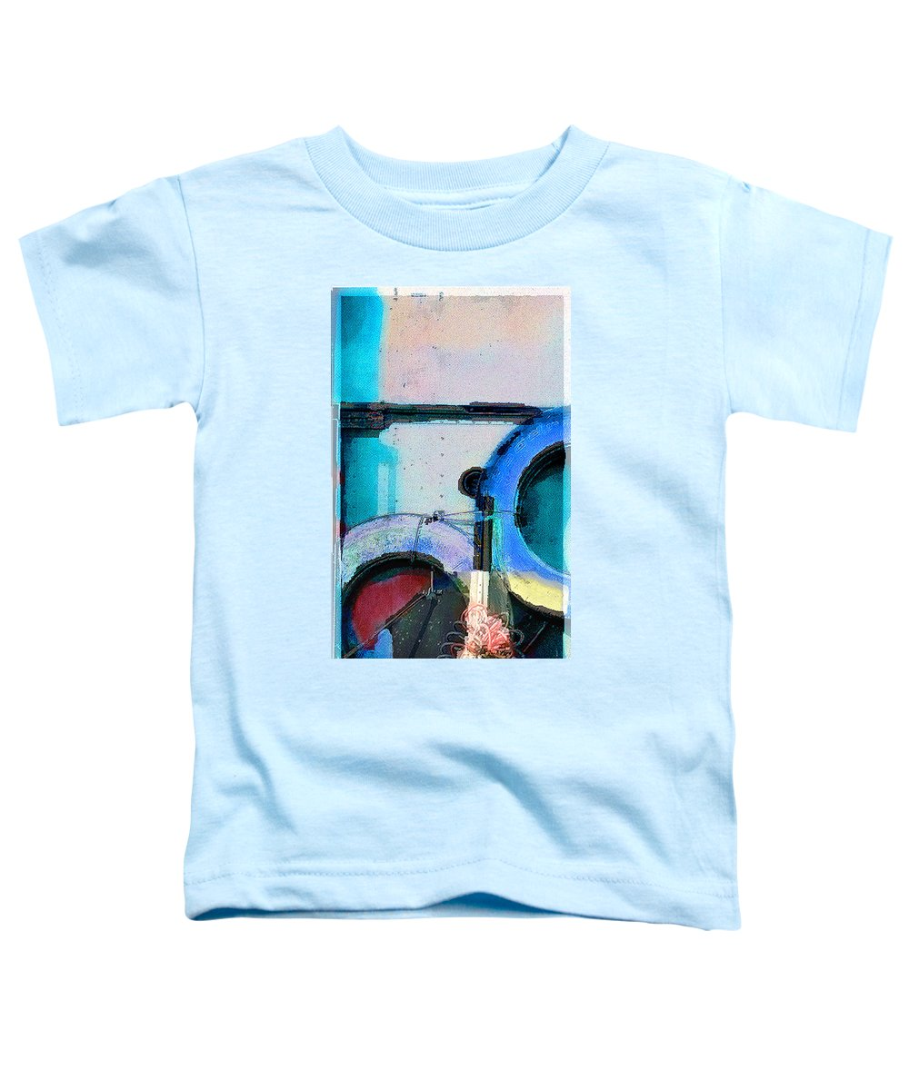 Abstract Toddler T-Shirt featuring the photograph panel three from Centrifuge by Steve Karol