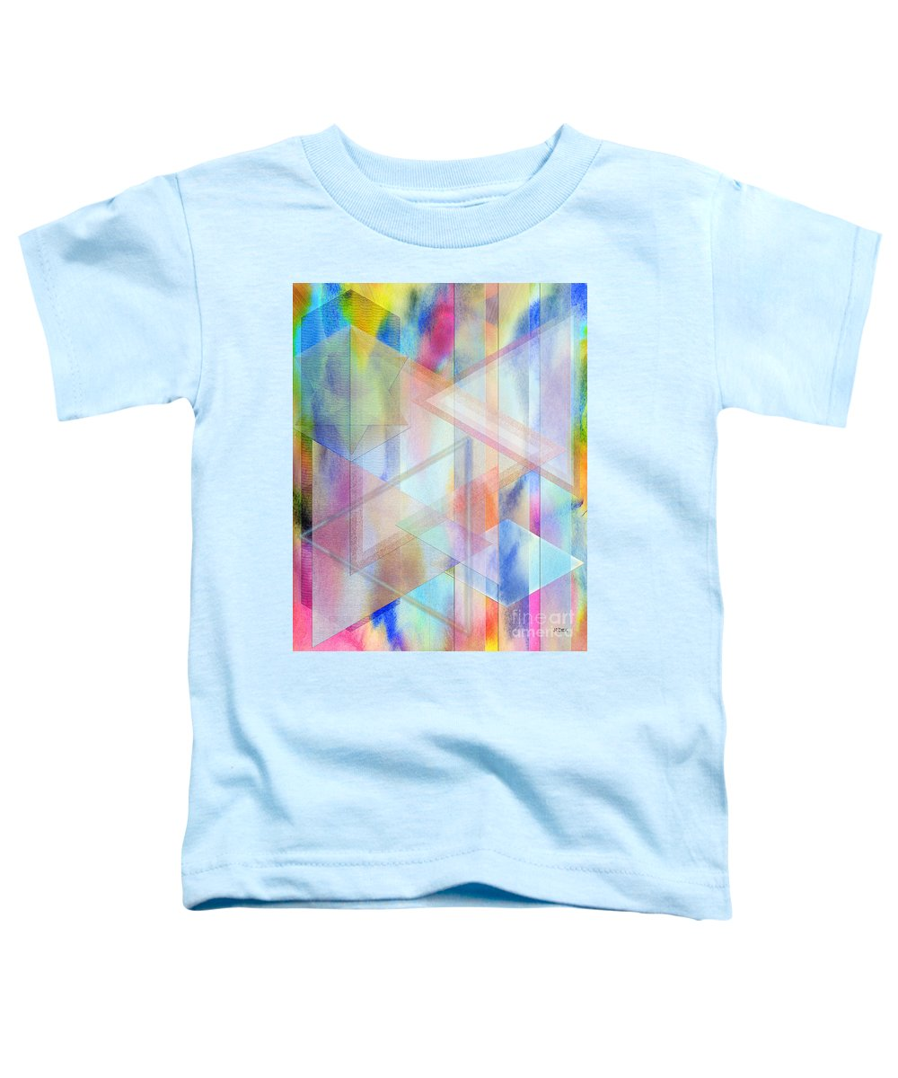 Pastoral Moment Toddler T-Shirt featuring the digital art Pastoral Moment by John Beck