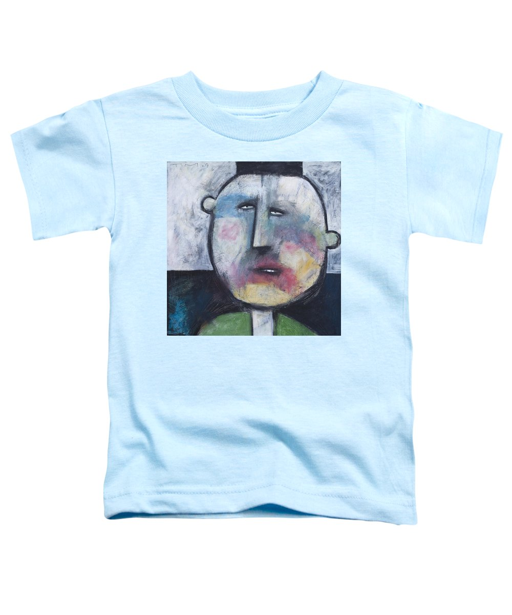 Funny Toddler T-Shirt featuring the painting Pillbox by Tim Nyberg