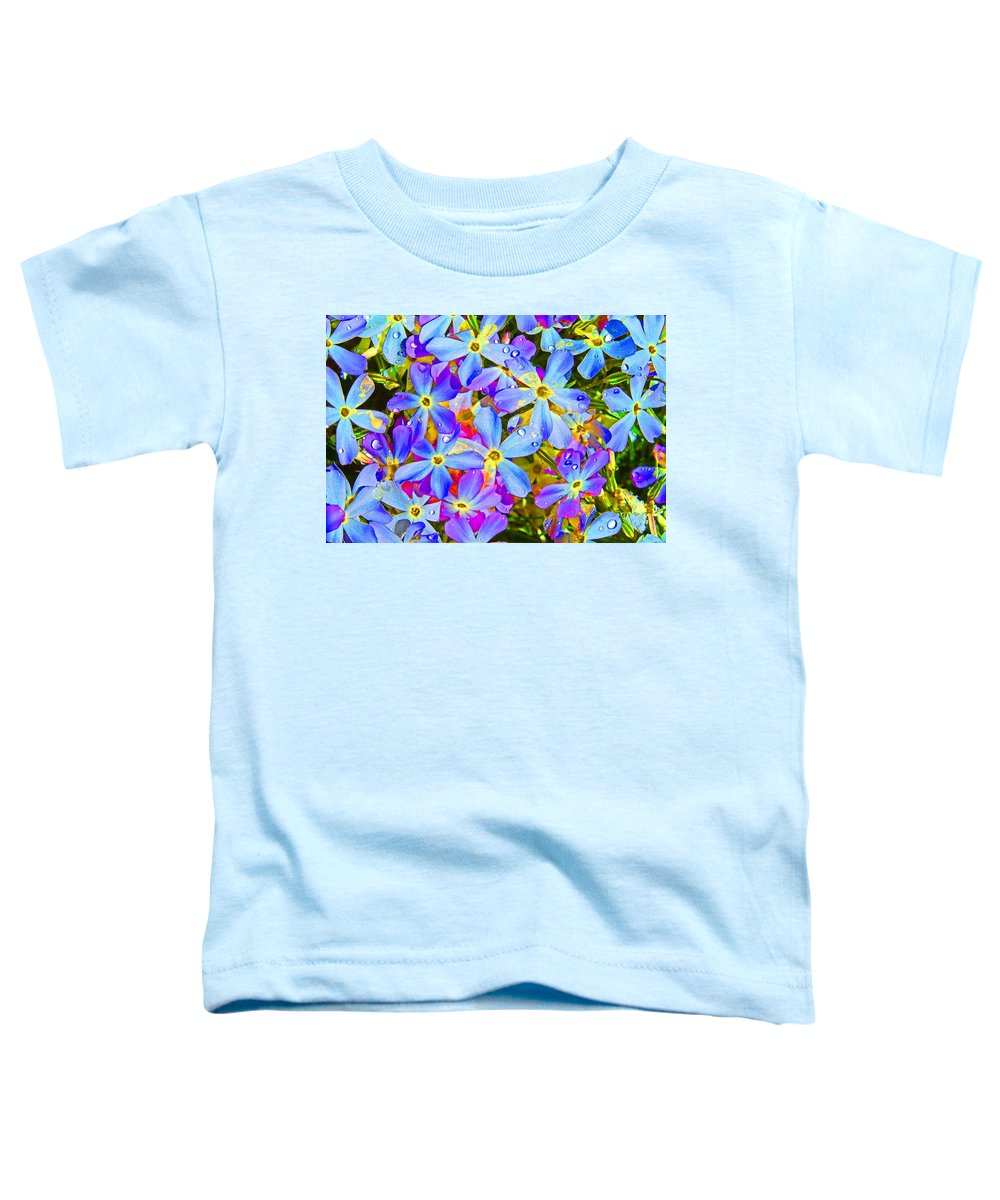 Wildflower Toddler T-Shirt featuring the photograph Pincushion Flower by Heather Coen