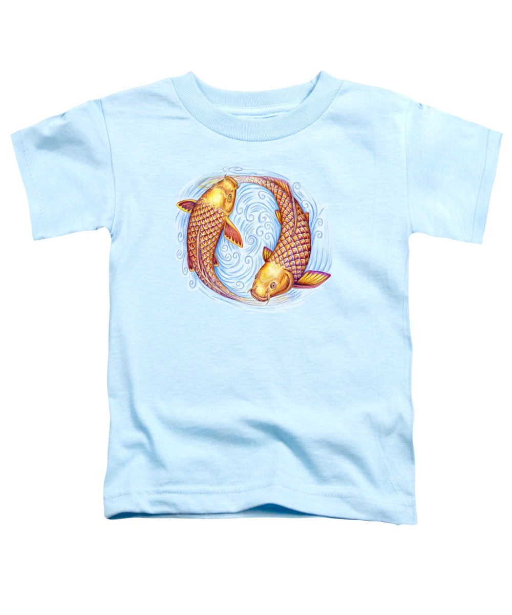 Pisces Toddler T-Shirts