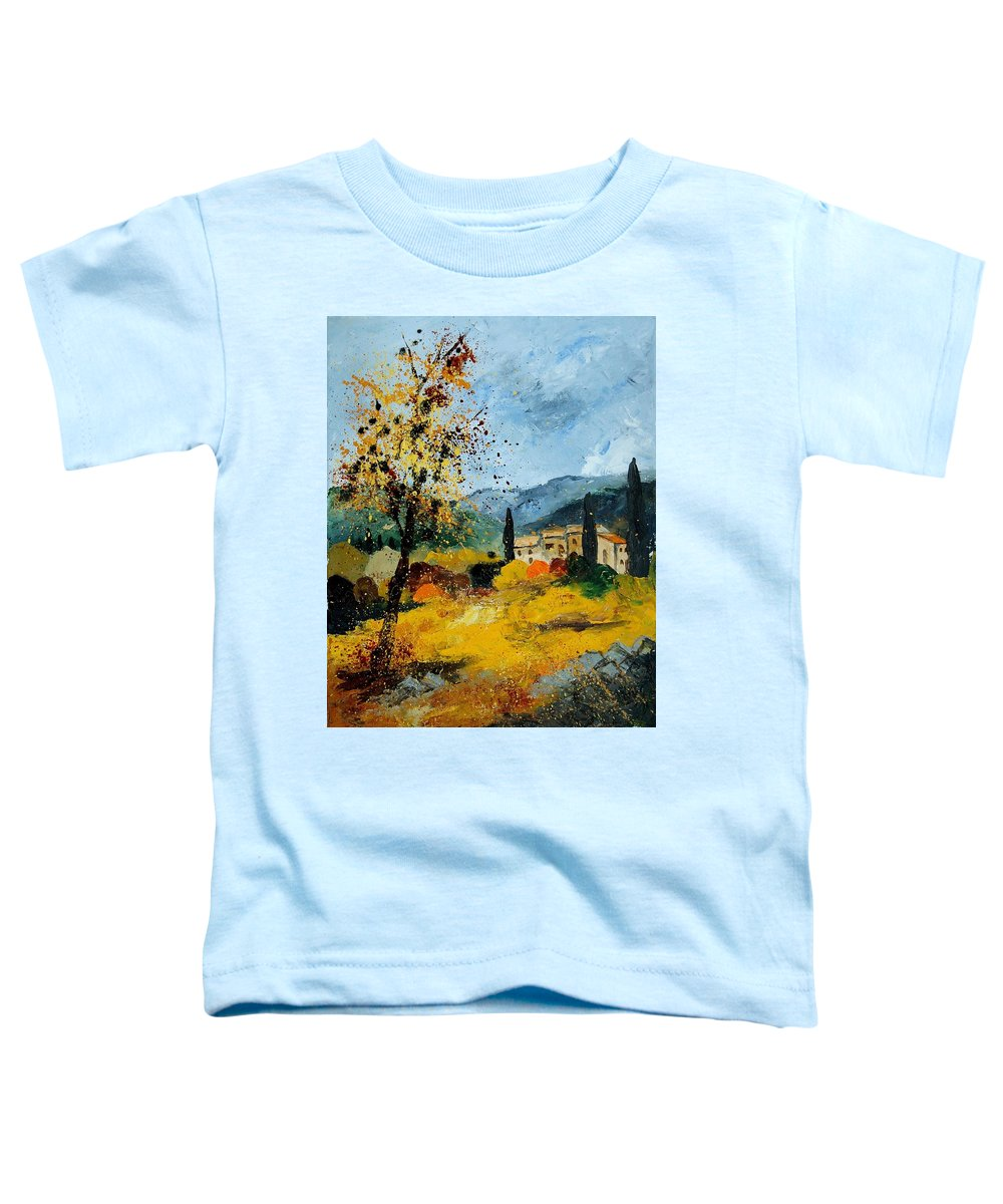 Provence Toddler T-Shirt featuring the painting Provence 45 by Pol Ledent