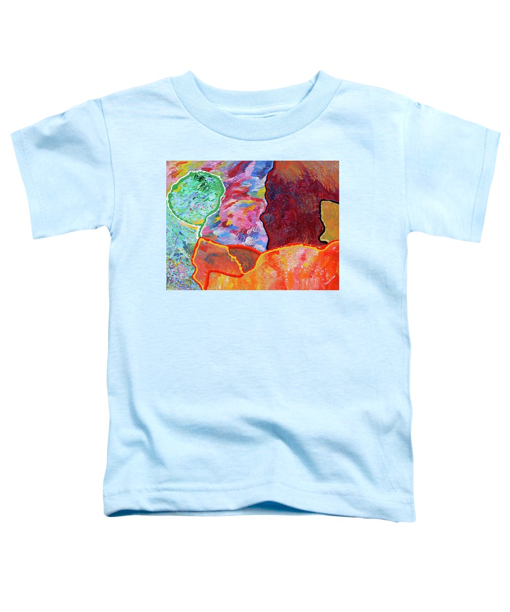 Fusionart Toddler T-Shirt featuring the painting Puzzle by Ralph White