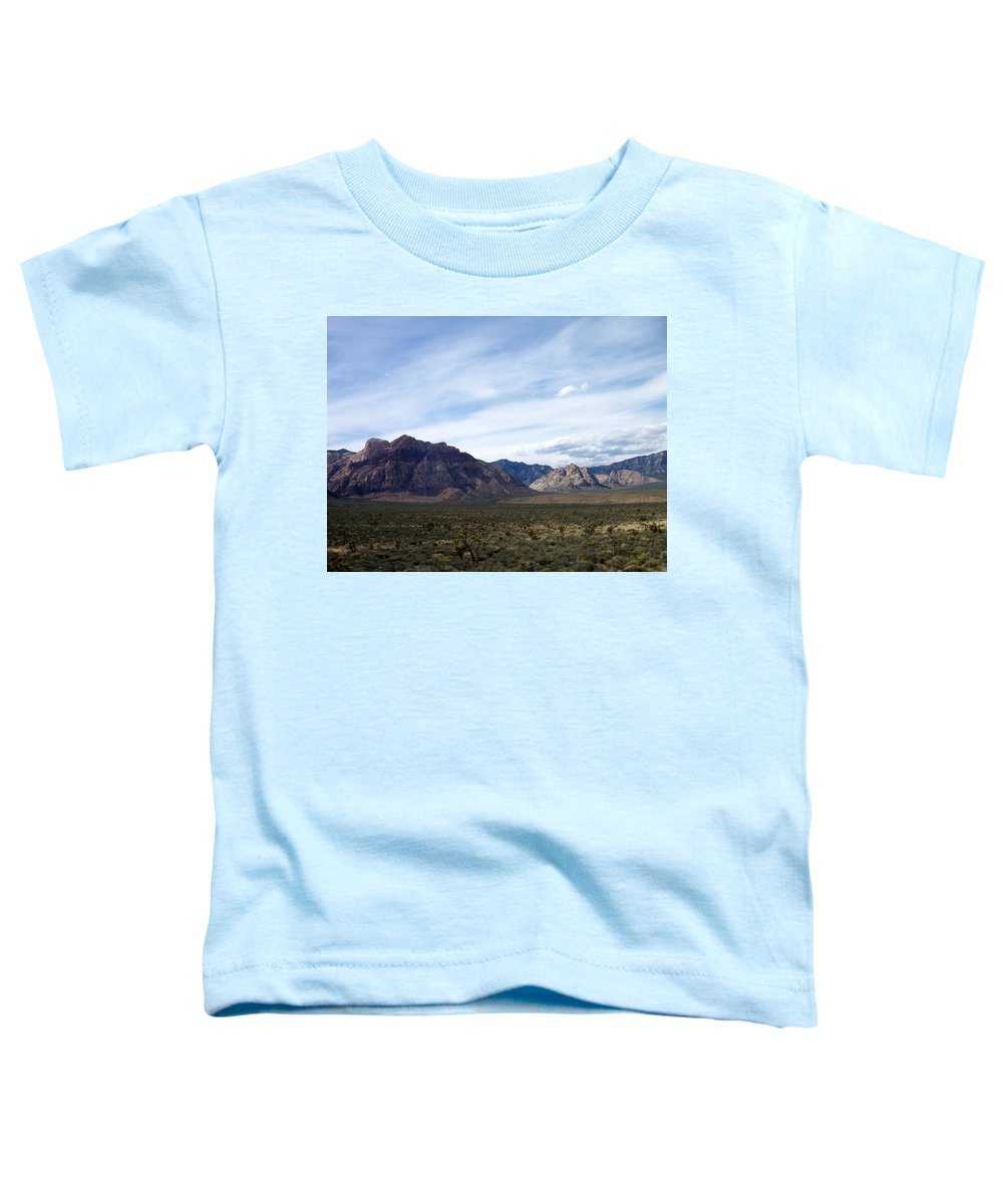 Red Rock Canyon Toddler T-Shirt featuring the photograph Red Rock Canyon 4 by Anita Burgermeister
