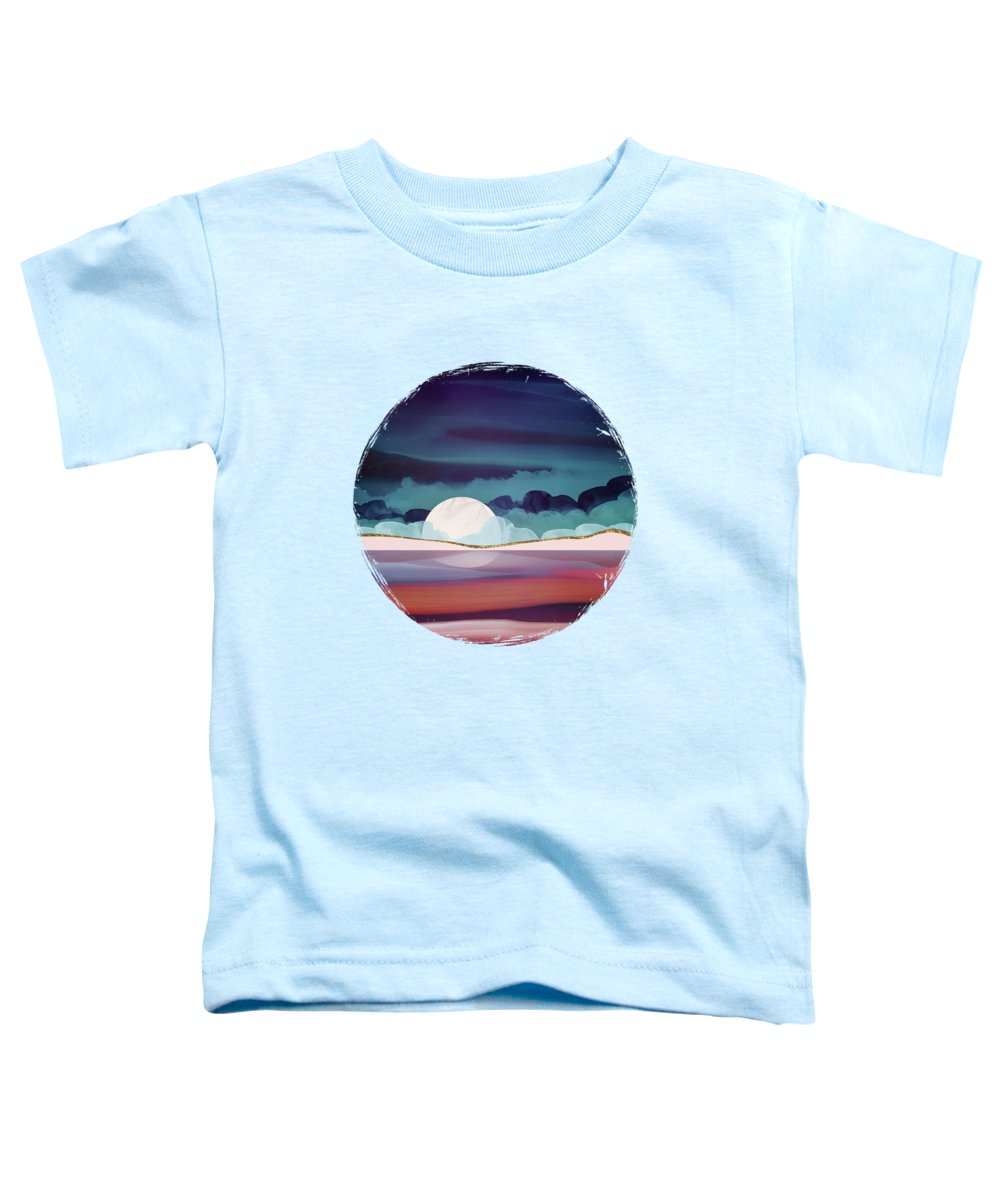 Red Toddler T-Shirt featuring the digital art Red Sea by Spacefrog Designs