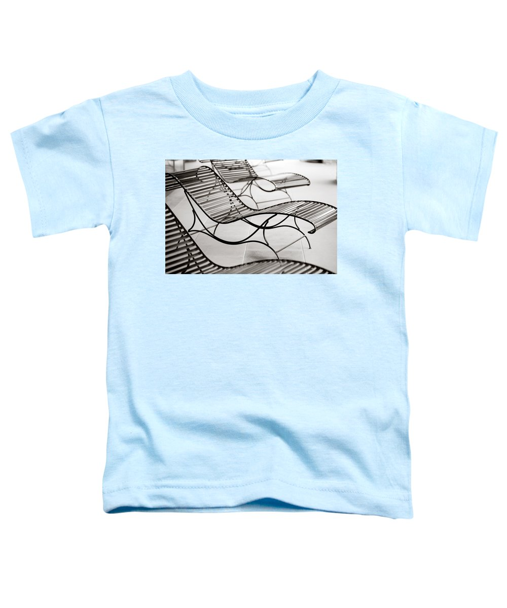 Chair Toddler T-Shirt featuring the photograph Relaxation by Marilyn Hunt