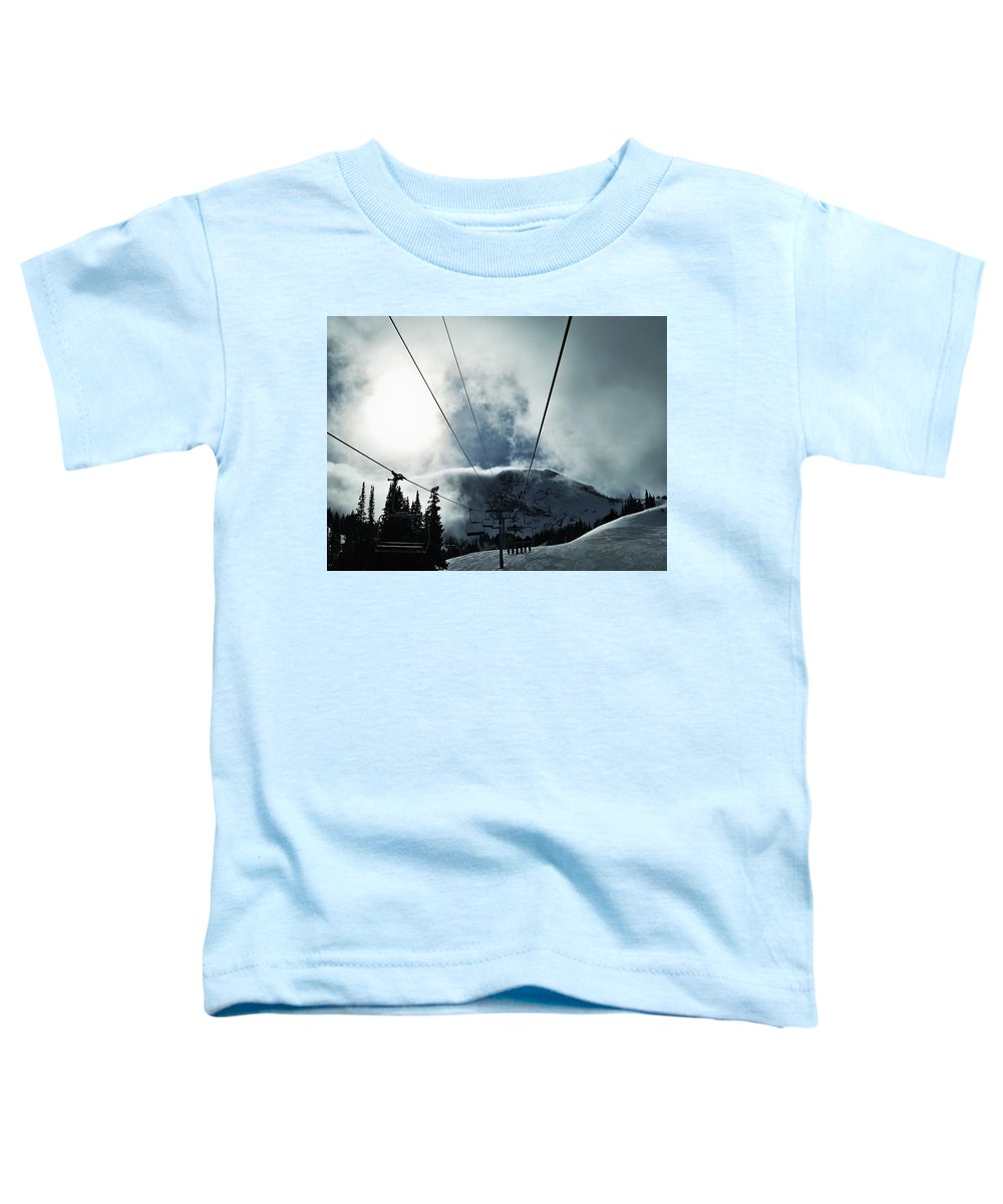 Landscape Toddler T-Shirt featuring the photograph Rise To The Sun by Michael Cuozzo