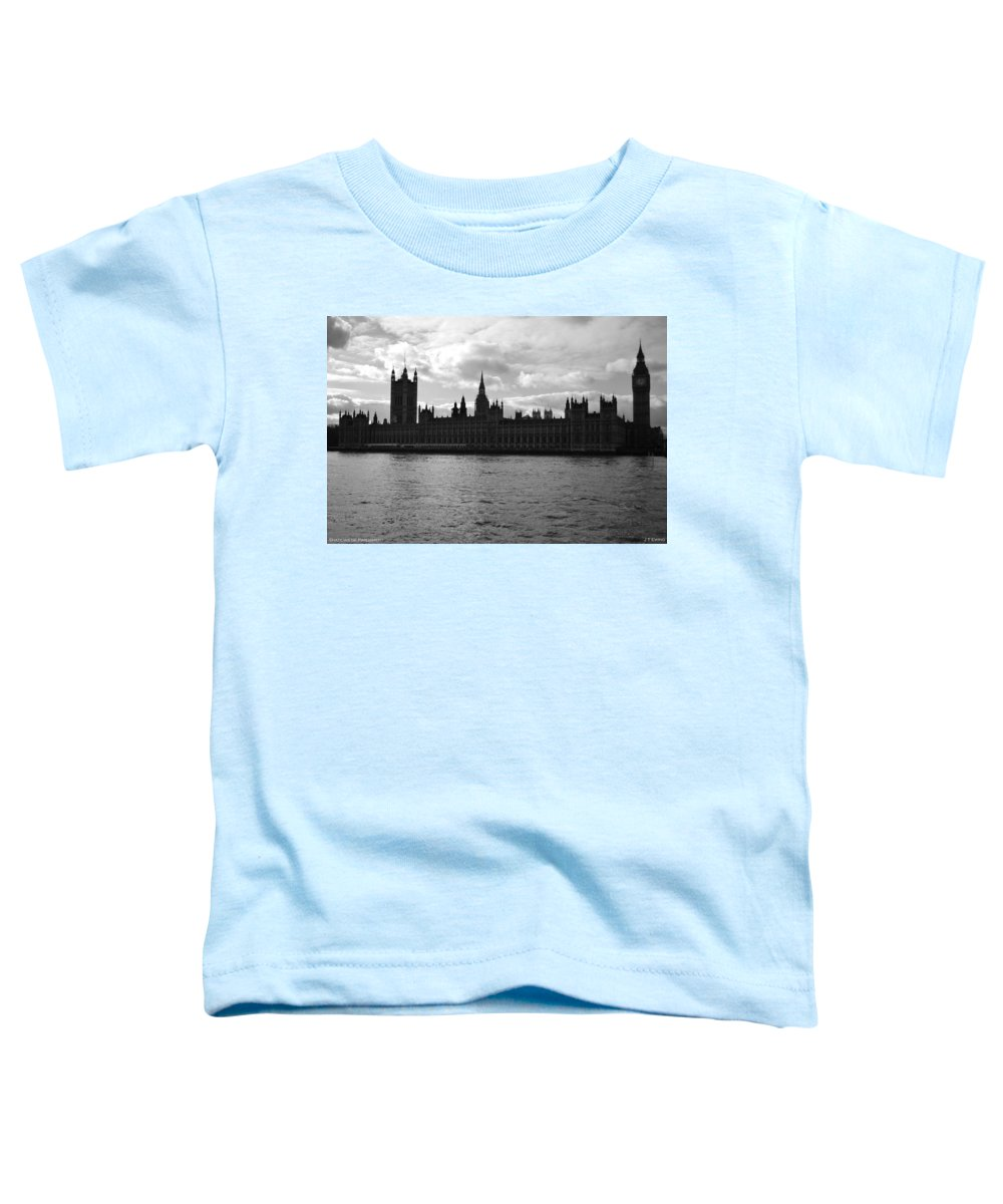 London Toddler T-Shirt featuring the photograph Shadows Of Parliament by J Todd