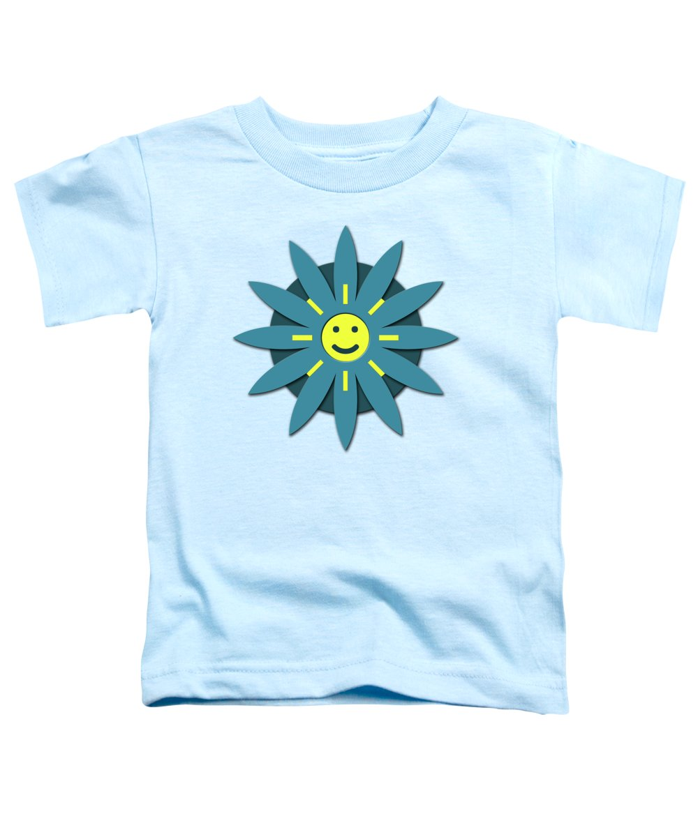 Smiley Faces Toddler T-Shirts