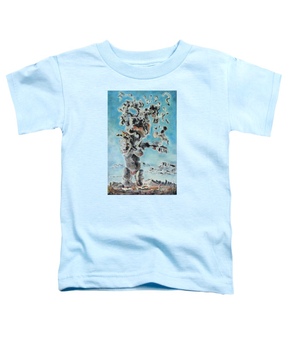 Surreal Toddler T-Shirt featuring the painting Spectre by Dave Martsolf