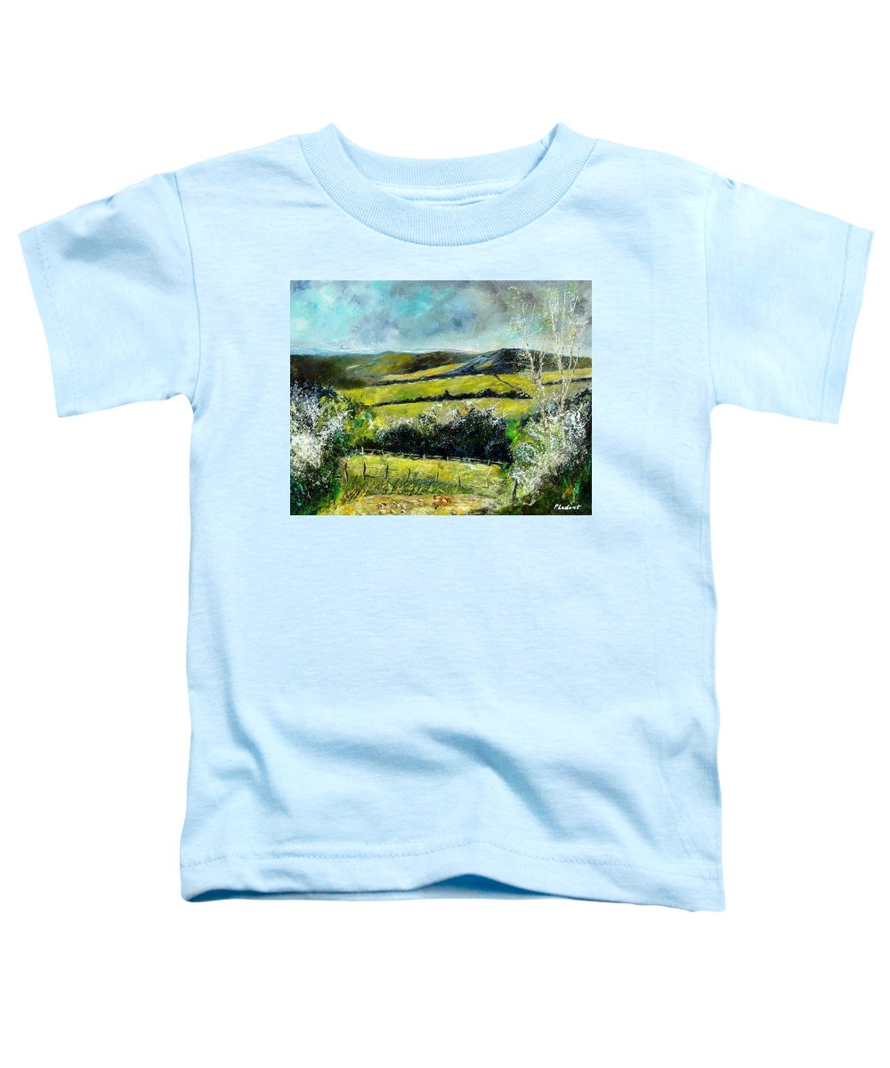 Landscape Toddler T-Shirt featuring the print Spring 79 by Pol Ledent
