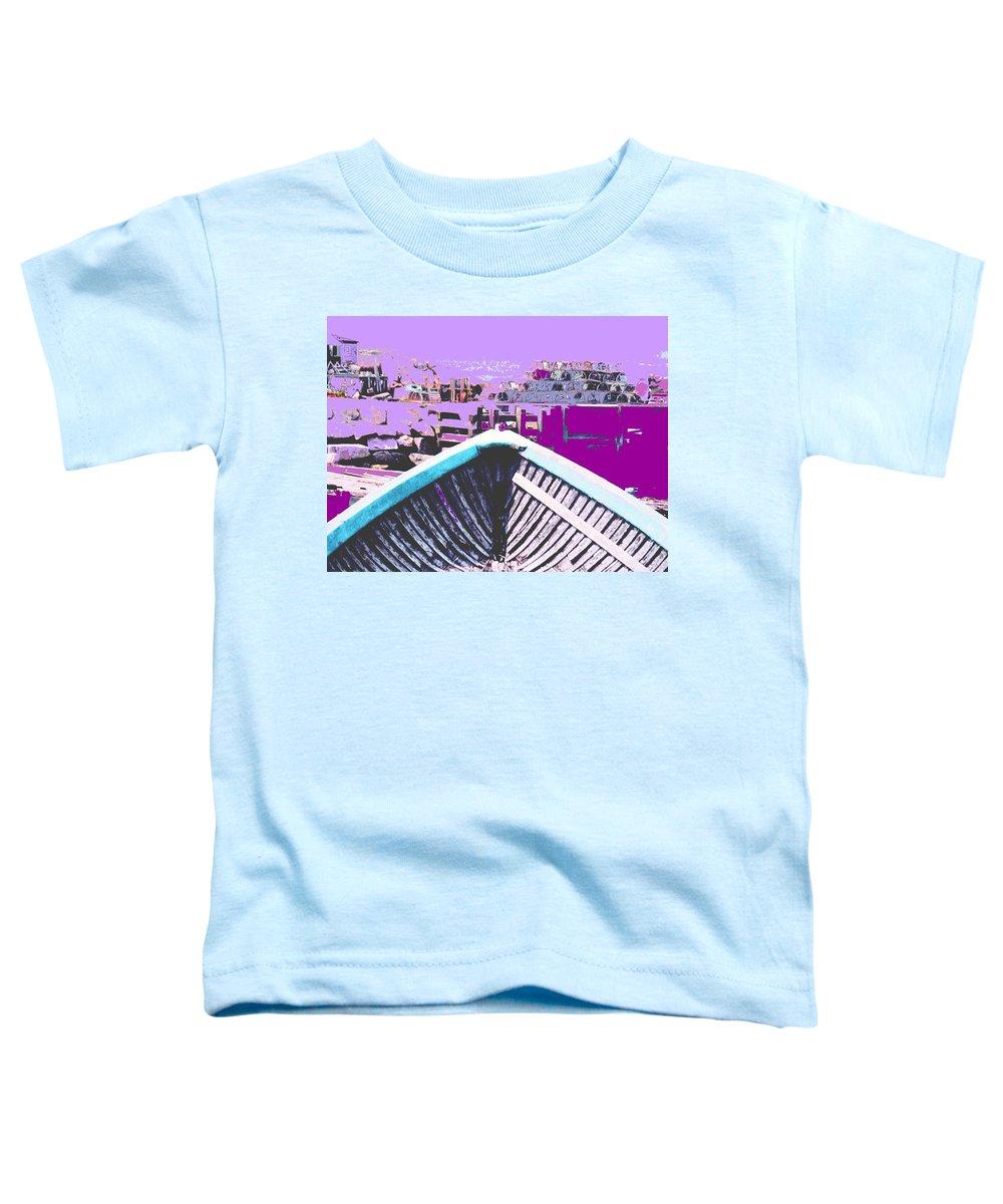 Nova Scotia Toddler T-Shirt featuring the photograph Strange Voyage by Ian MacDonald