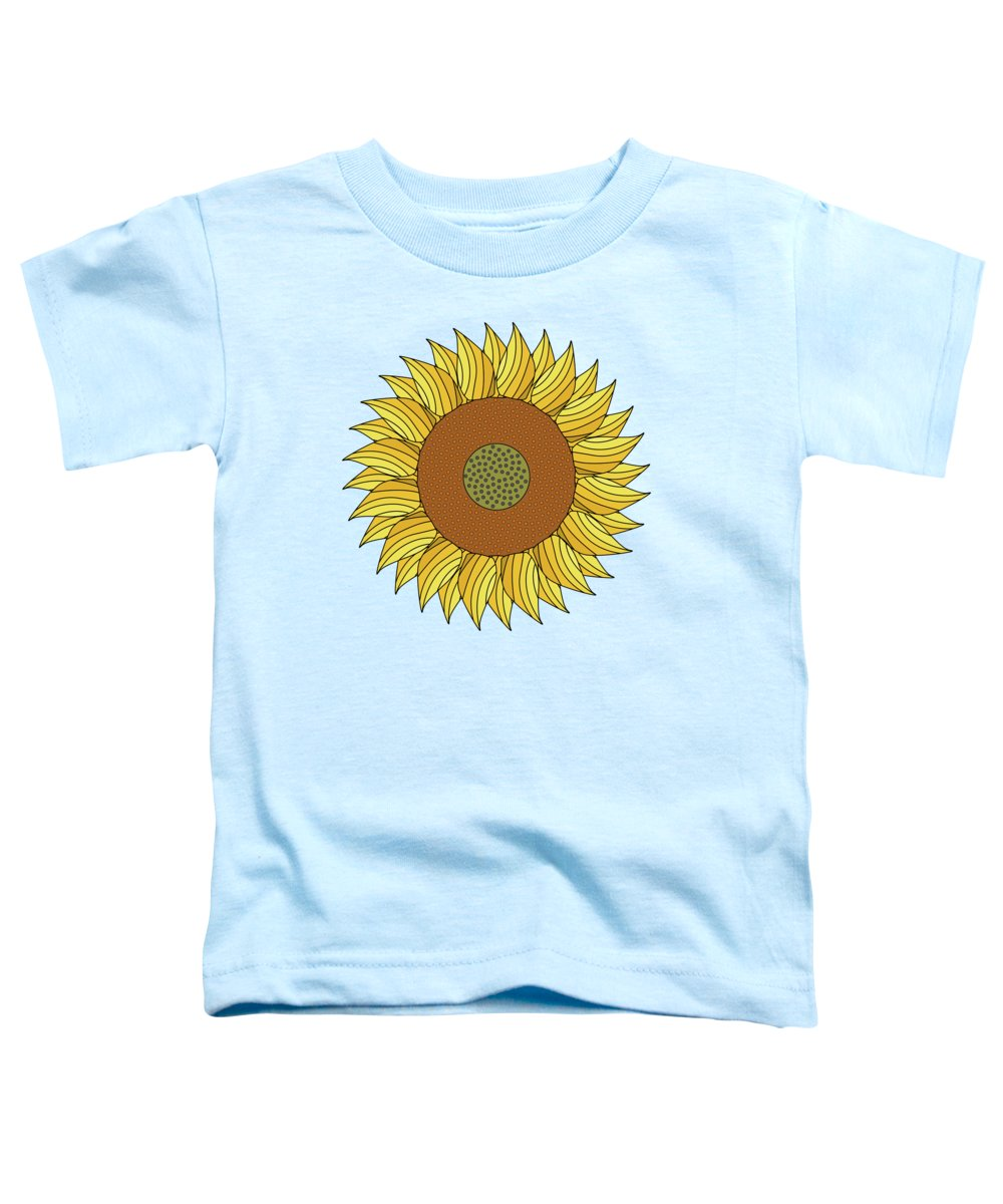 Abstract Toddler T-Shirt featuring the digital art Sunny Day by Absentis Designs