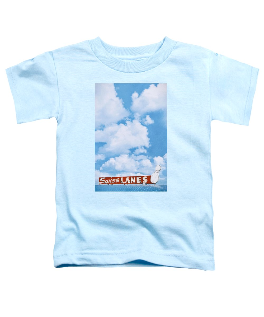 Architecture Toddler T-Shirt featuring the photograph Swiss Lanes by Scott Norris