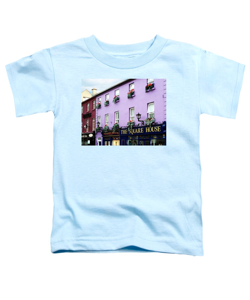 Irish Toddler T-Shirt featuring the photograph The Square House Athlone Ireland by Teresa Mucha