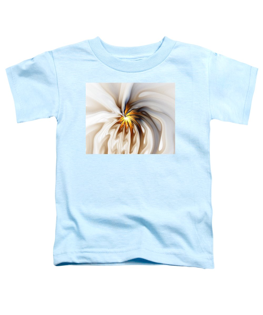 Digital Art Toddler T-Shirt featuring the digital art This Too Will Pass... by Amanda Moore