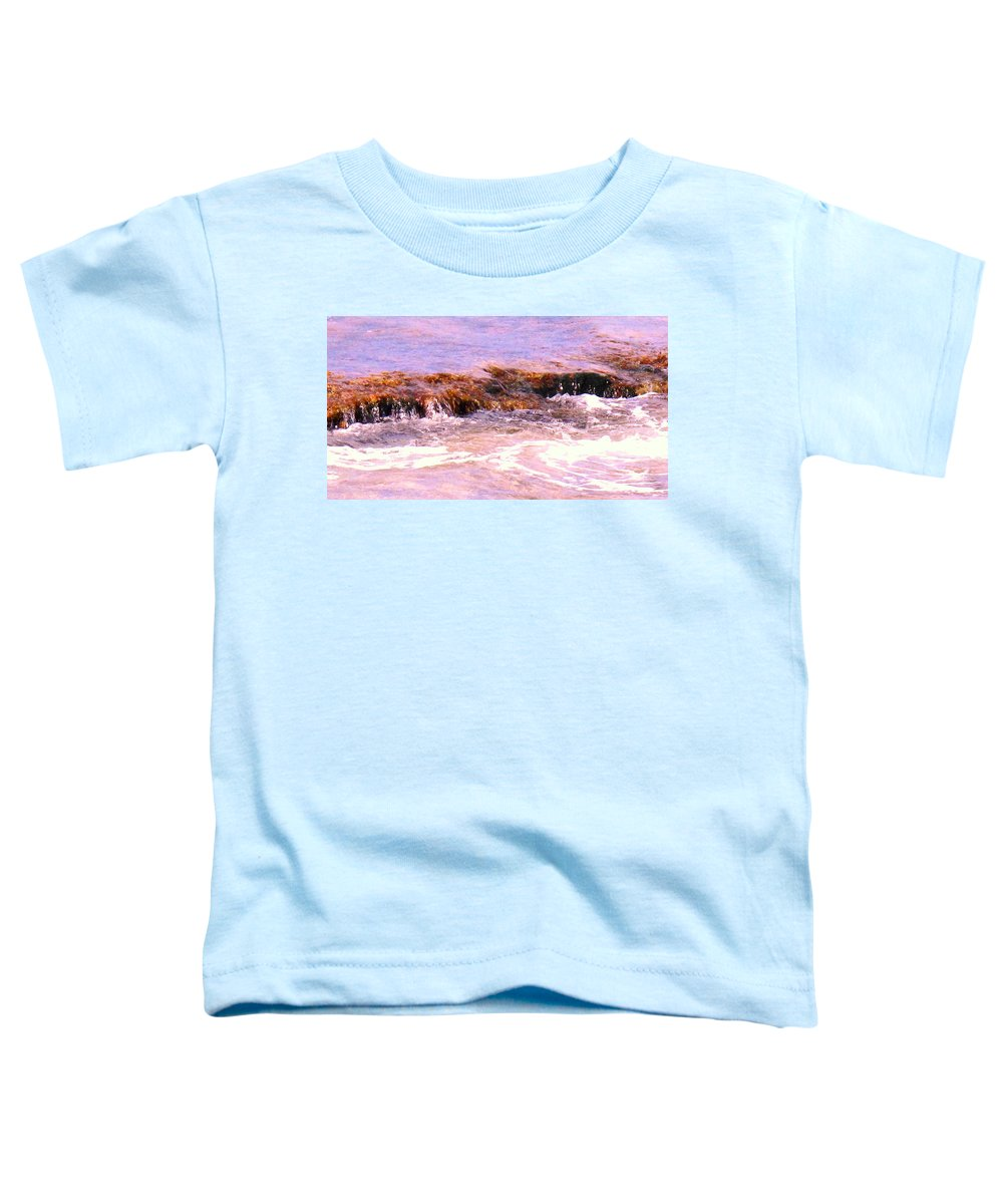 Tide Toddler T-Shirt featuring the photograph Tidal Pool by Ian MacDonald