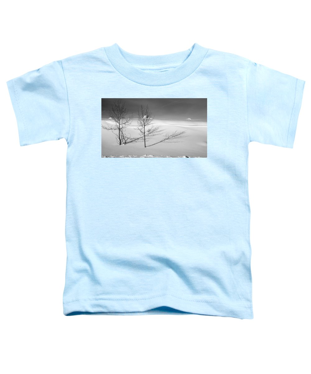 Nature Toddler T-Shirt featuring the photograph Twins by Skip Hunt