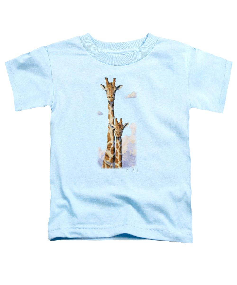 Giraffe Toddler T-Shirts