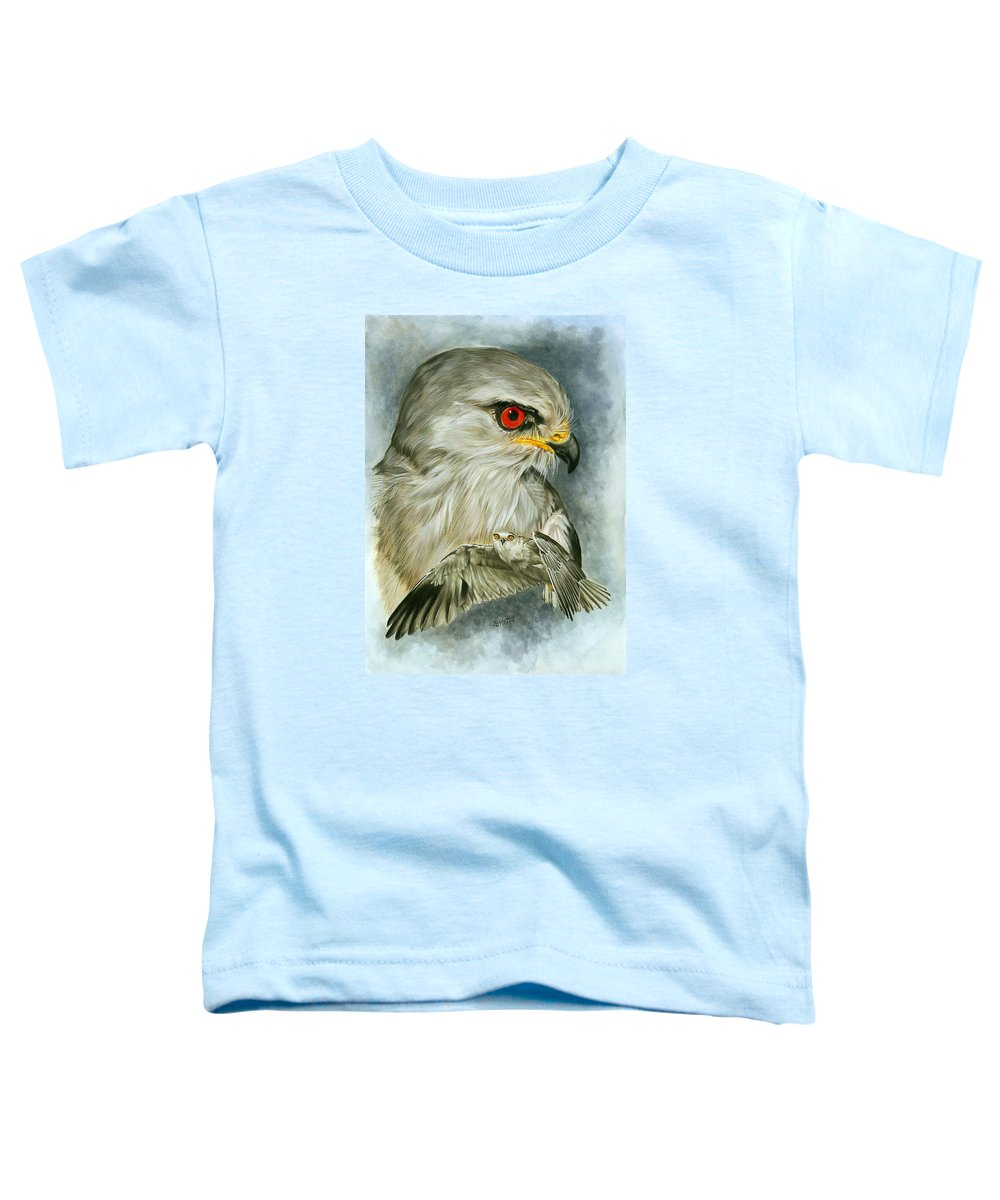 Kite Toddler T-Shirt featuring the mixed media Velocity by Barbara Keith