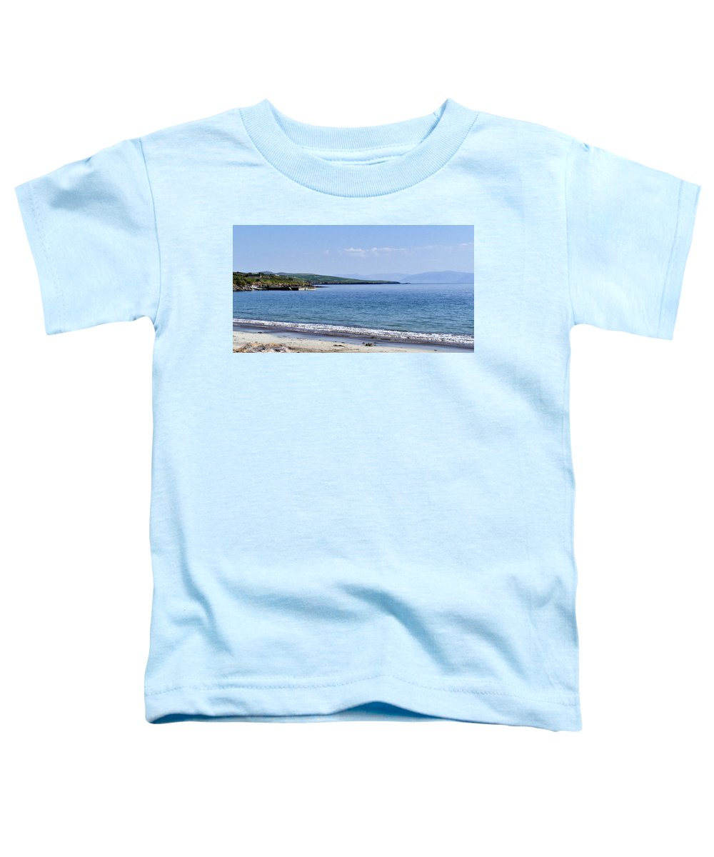 Irish Toddler T-Shirt featuring the photograph Ventry Harbor On The Dingle Peninsula Ireland by Teresa Mucha