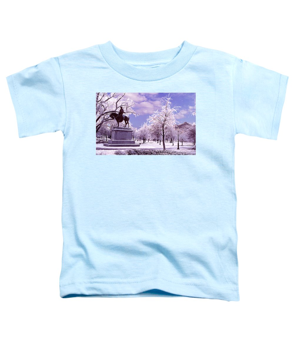 Landscape Toddler T-Shirt featuring the photograph Washington Square Park by Steve Karol