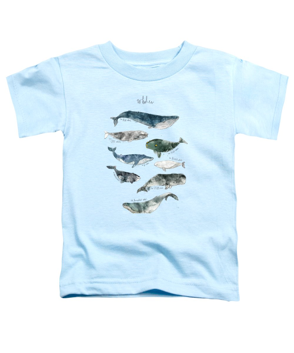 Whale Toddler T-Shirts