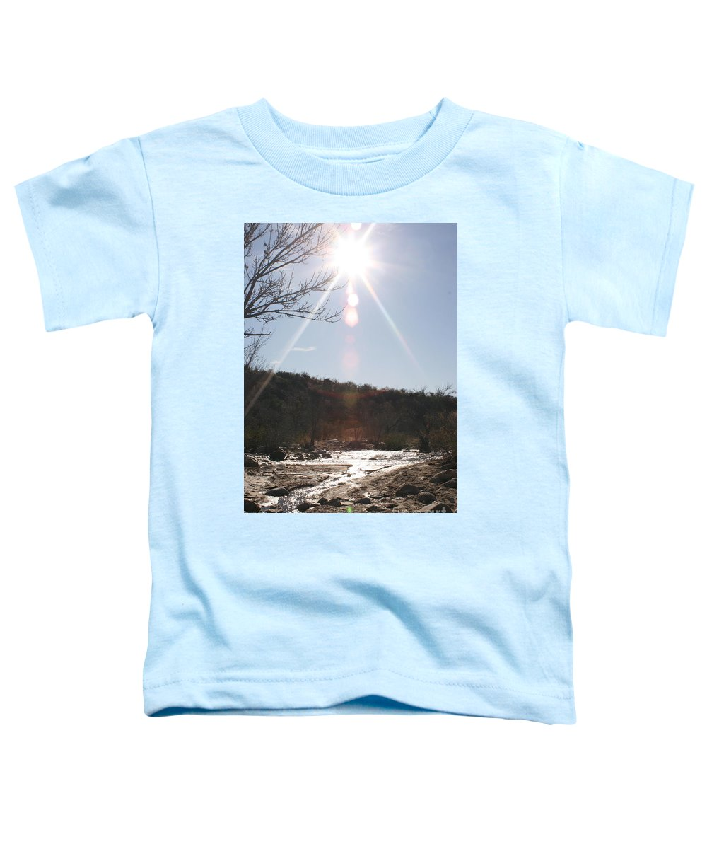 Winter Toddler T-Shirt featuring the photograph Winter Light by Nadine Rippelmeyer