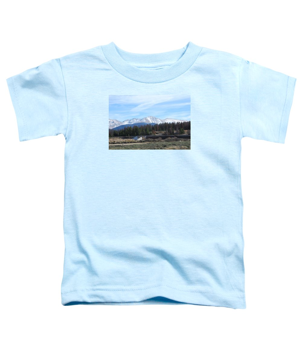 Colorado Toddler T-Shirt featuring the photograph Winter Park Colorado by Margaret Fortunato