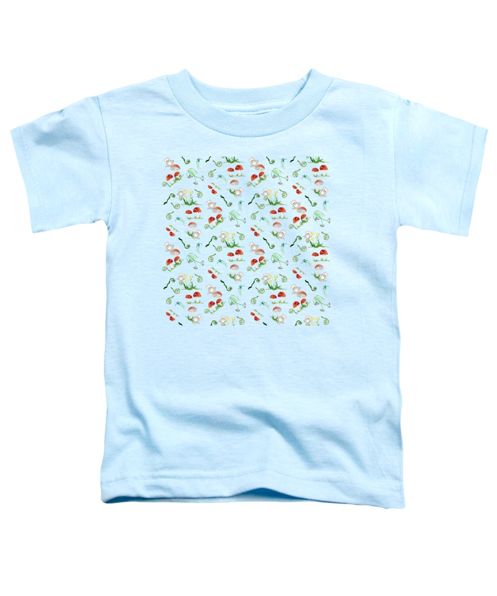 Mushroom Toddler T-Shirts