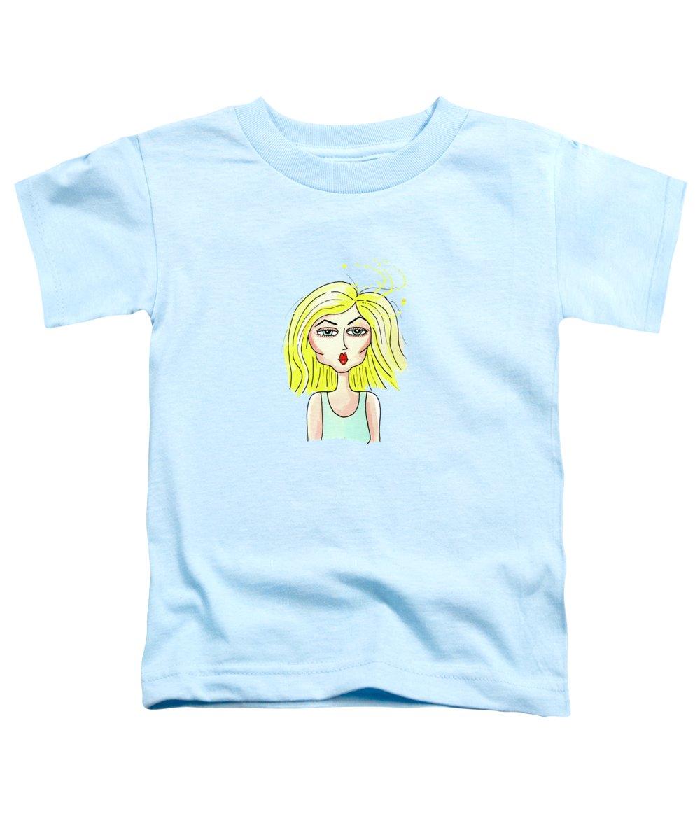 Blonde Toddler T-Shirts