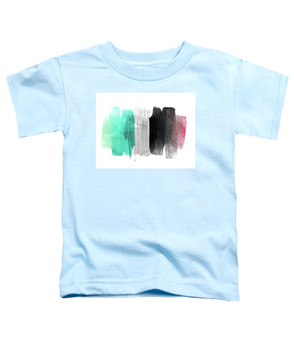 Painting Toddler T-Shirt featuring the pyrography Made Of Emotion by Mark Ashkenazi