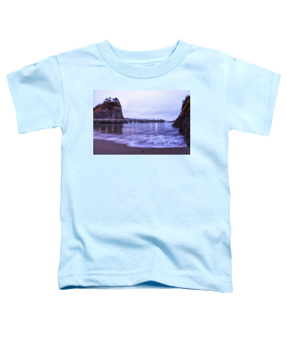 California Toddler T-Shirt featuring the photograph Soaking It All In by Marnie Patchett