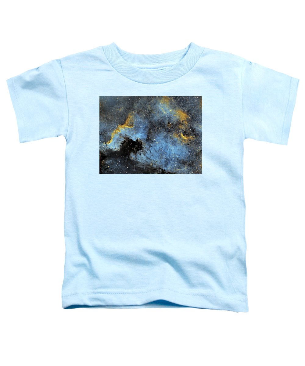 Nebula Toddler T-Shirt featuring the photograph The North America Nebula by Prabhu Astrophotography