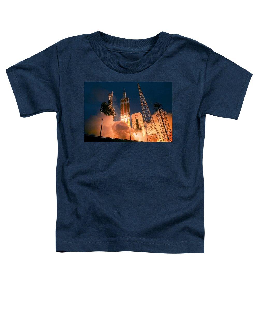 Delta Iv Photographs Toddler T-Shirts
