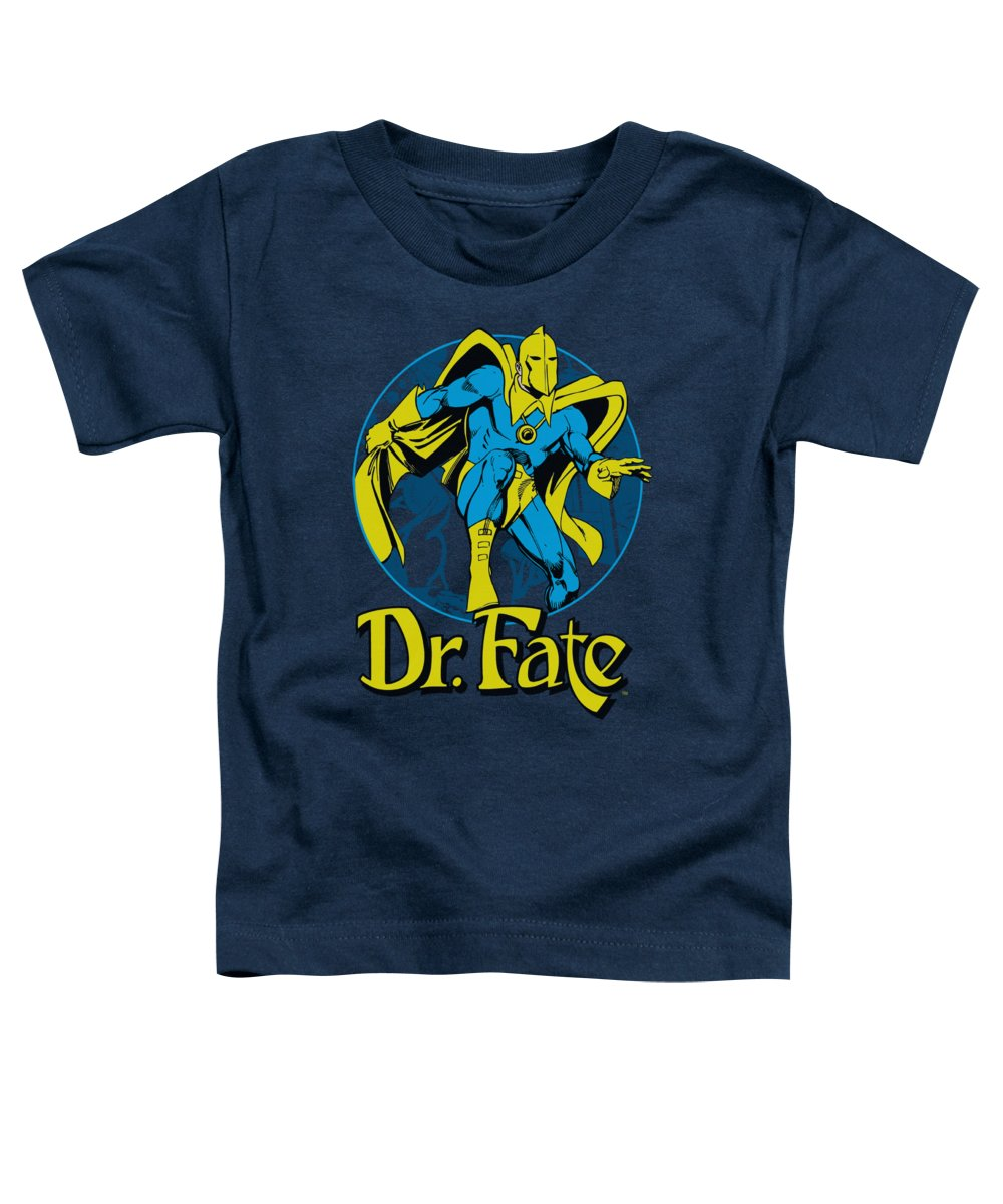 Doctor Fate Toddler T-Shirt featuring the digital art Dc - Dr Fate Ankh by Brand A