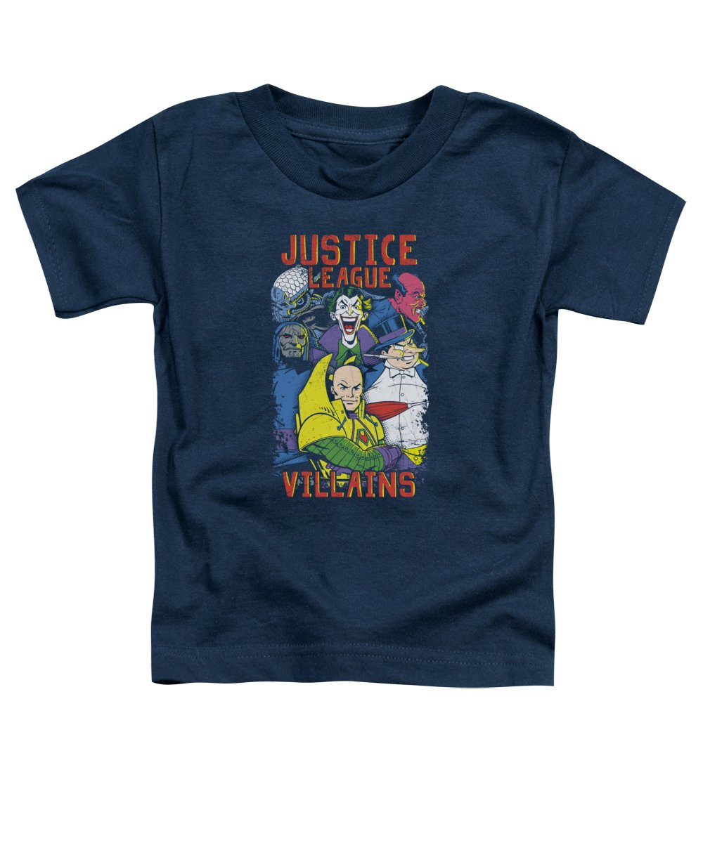 Justice League Of America Toddler T-Shirt featuring the digital art Jla - Justice For America by Brand A